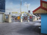 "Porthcawl Funfair 2  Coney Beach ""out of Season"""