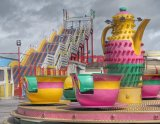 Porthcawl Funfair 6 Cup & Saucer Ride 1