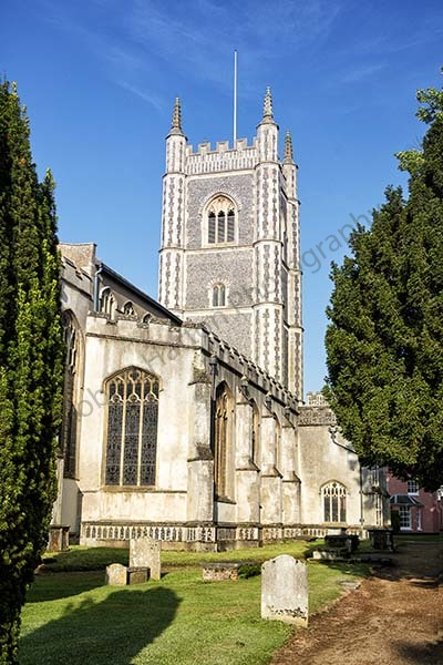 This image is of the St Marys Church in Dedham, Essex