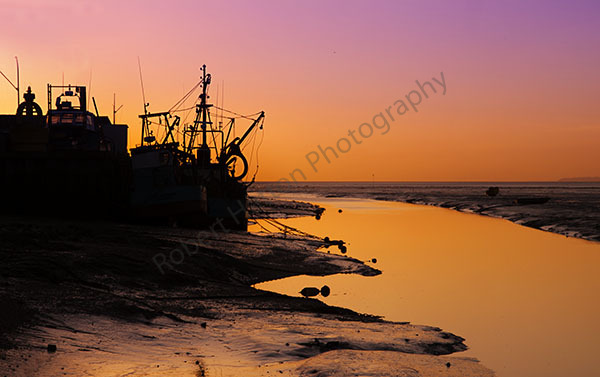 Sunrise at Leigh on Sea