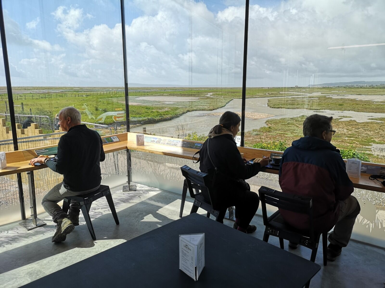 View over reserve from Discovery Centre