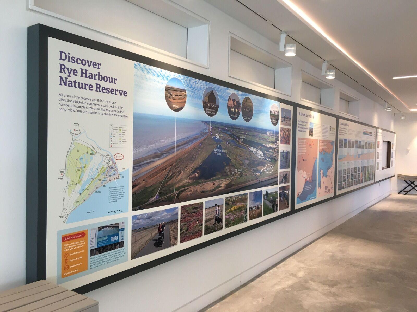 Discovery Centre Interpretation Boards