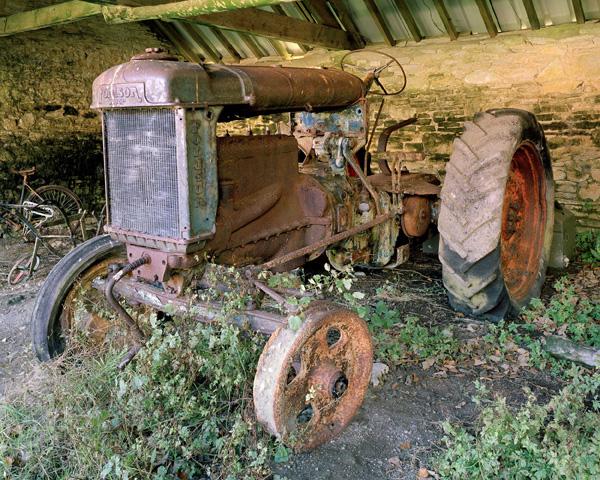 Tyneham Village, Tractor
