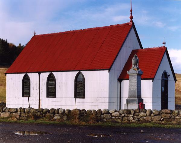 Syke Church, Highlands of Scotland