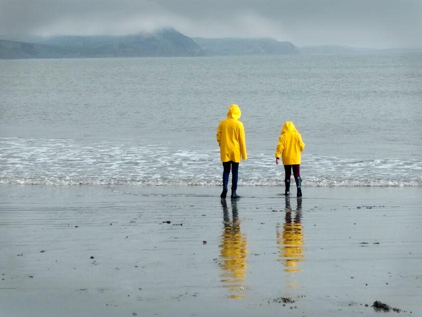 3rd Sue Bennett ---Wet Day a the Beach