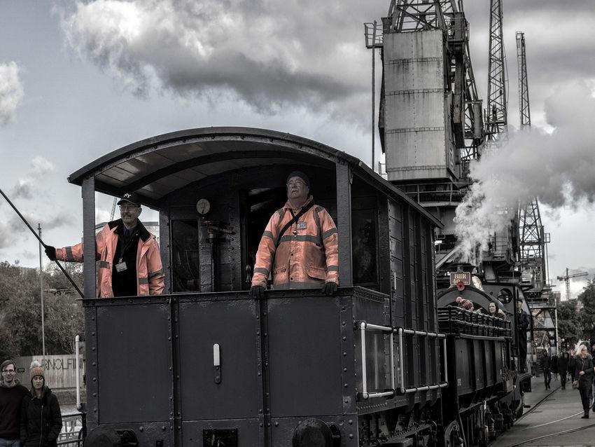 1st- Train Ride Past the Cranes