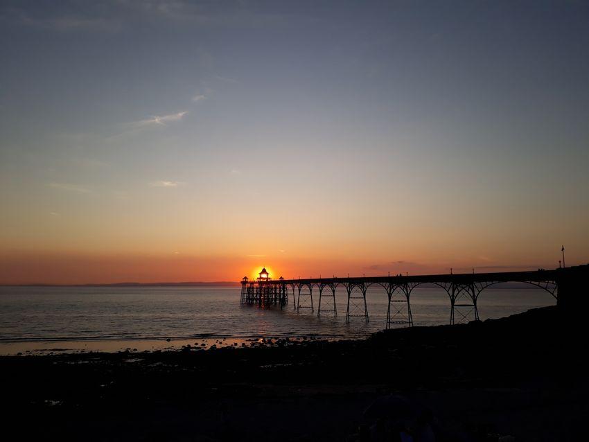 Buckland, Neil Sunset at Clevedon Pier