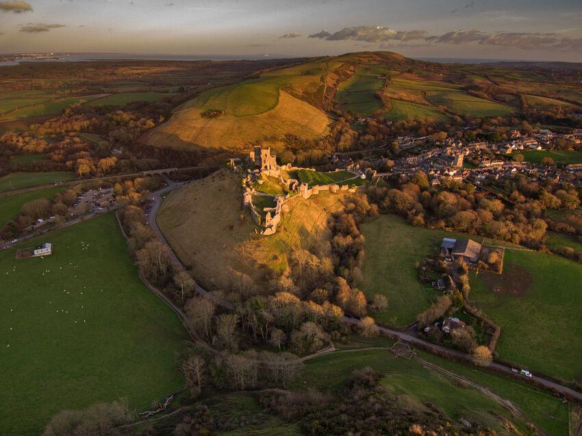 Matthew Harris ---Corfe Castle
