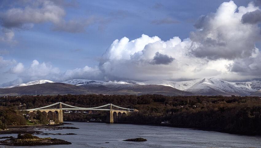 Richard Hopkins--- Menai Bridge