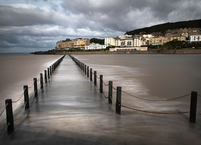 Weston Super Mare - High Tide - Sue Bennett