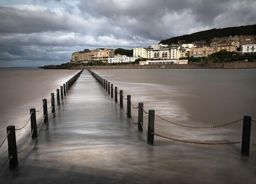 Weston Super Mare - High Tide - Sue Bennett