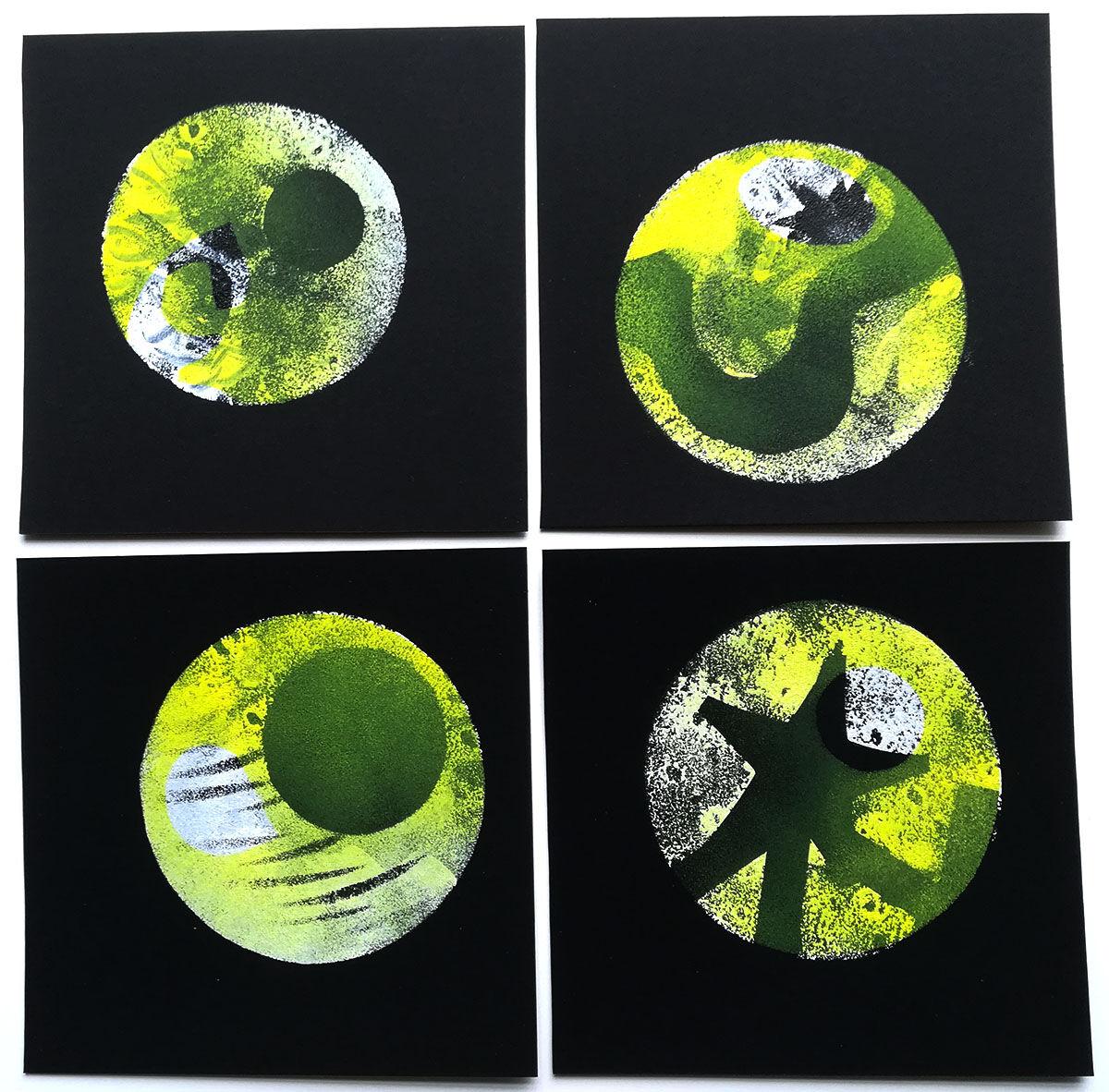 set #128 - Lemon Asteroids