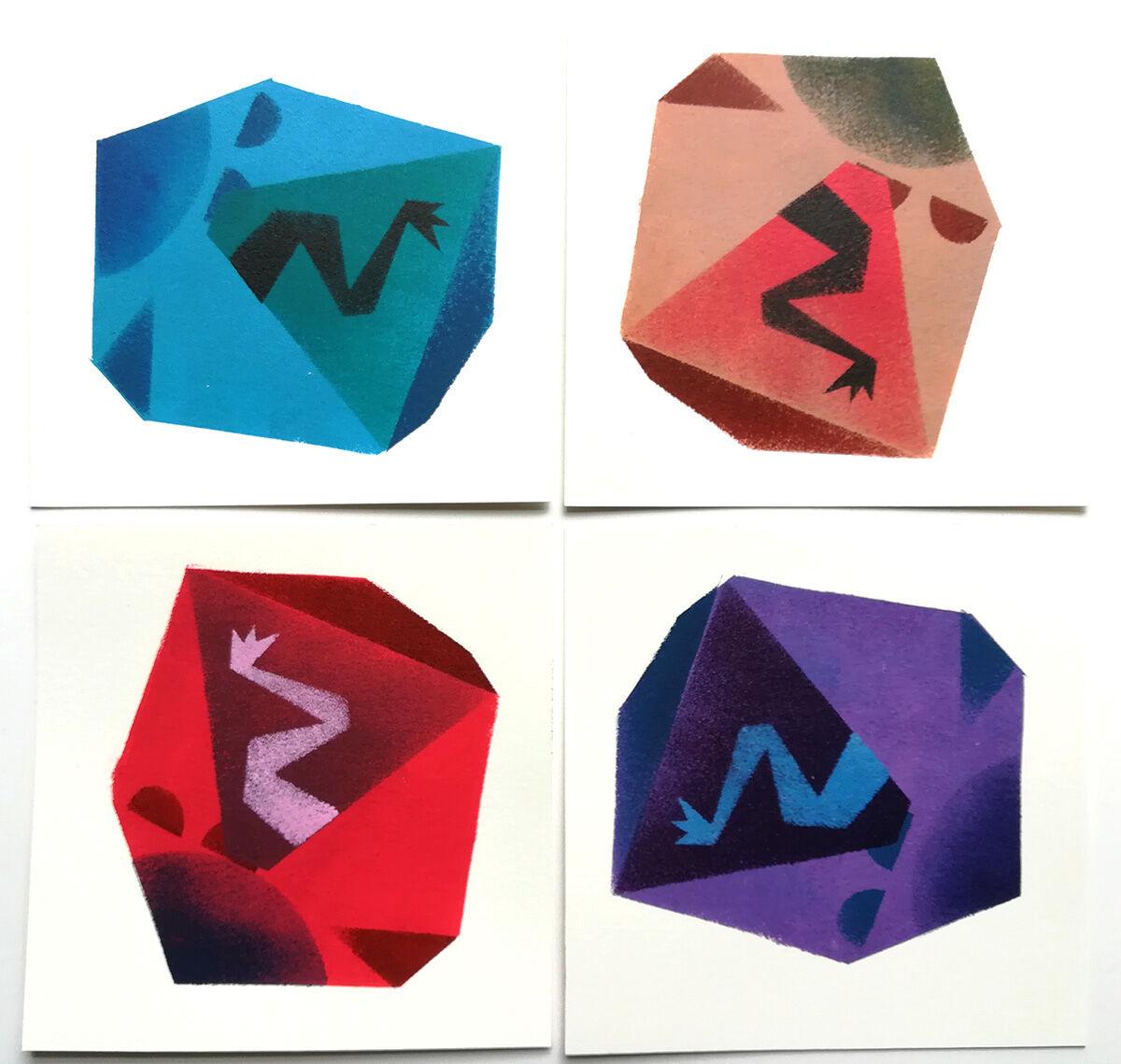 set #102 Squashed Box series