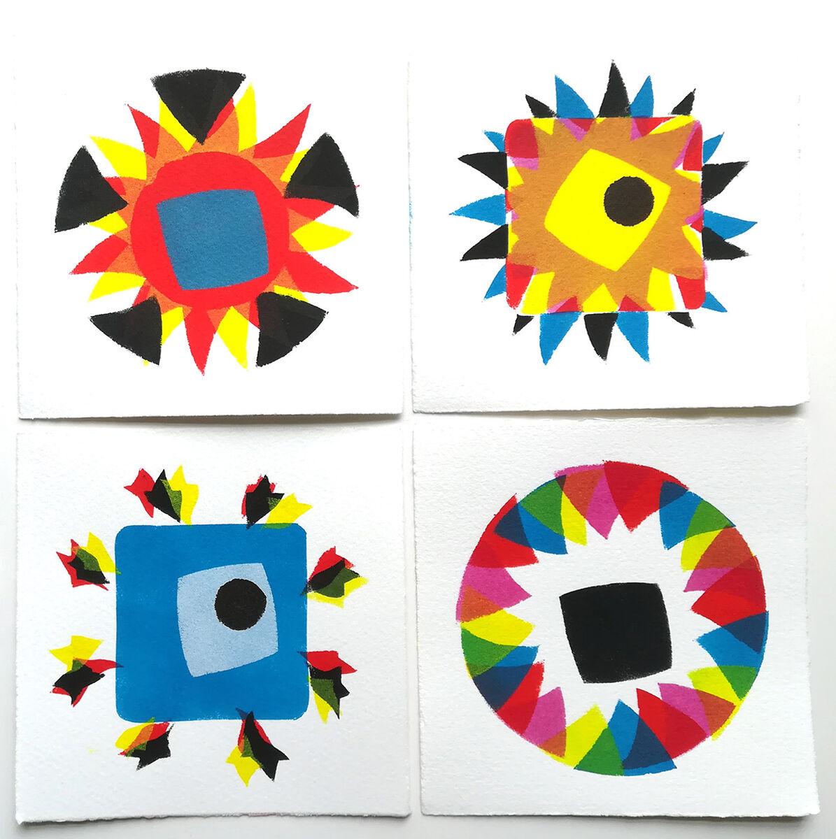 set #162 Broken Kaleidoscope series