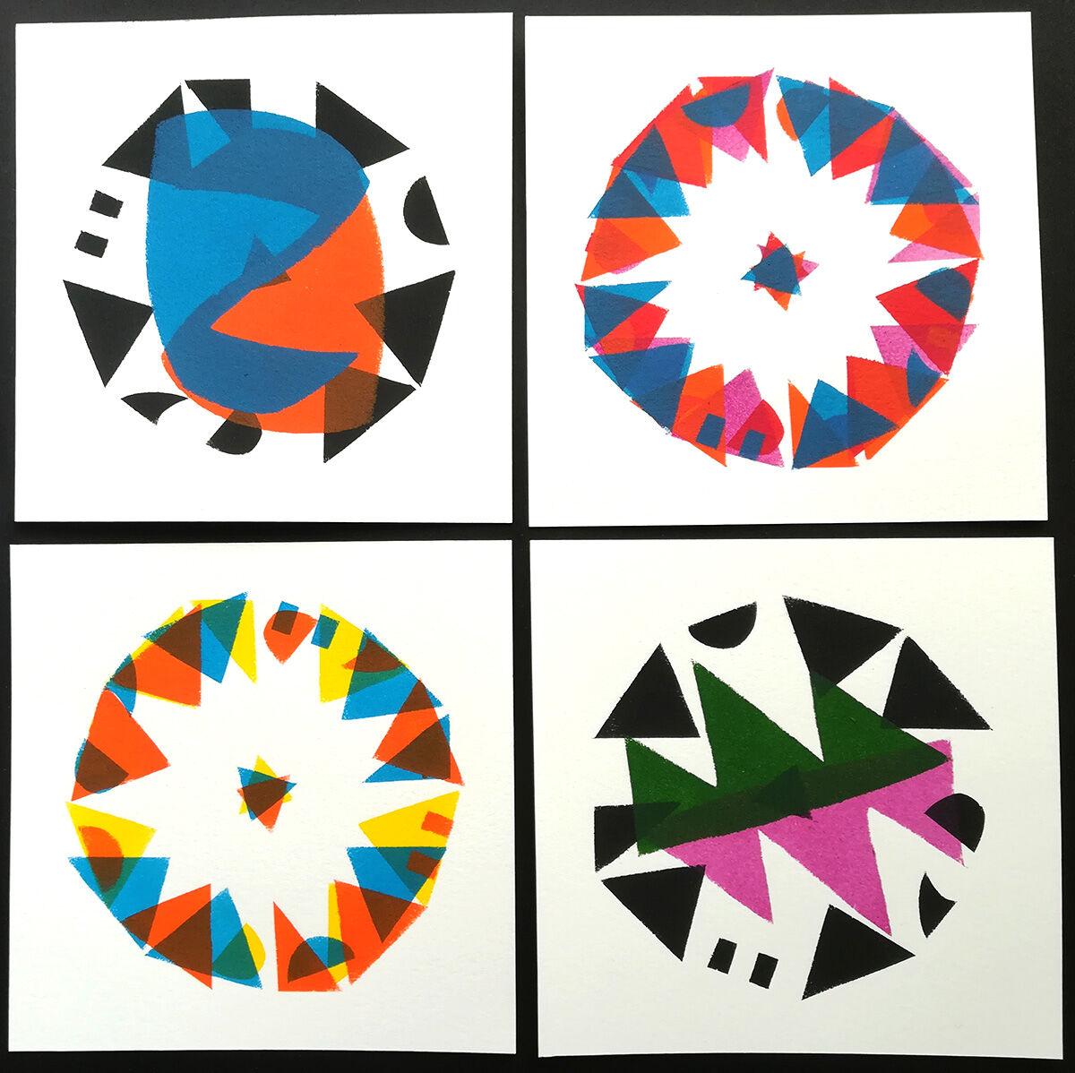 set #163 Broken Kaleidoscope series