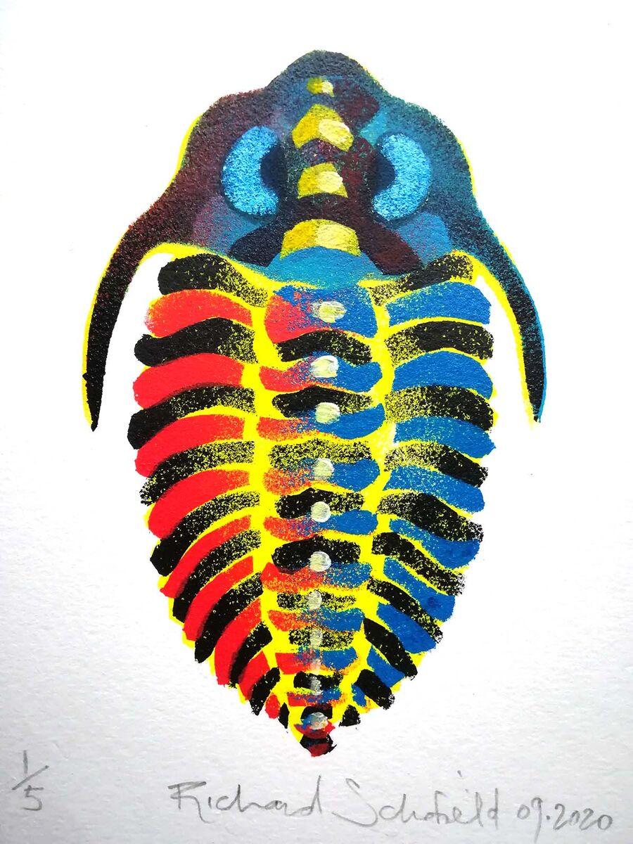 Trilobite 1 detail