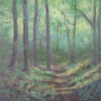 June - Woodland Path