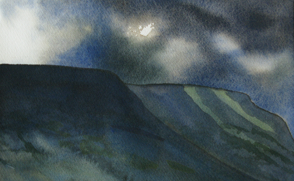 Black Mountains - passing storm 6