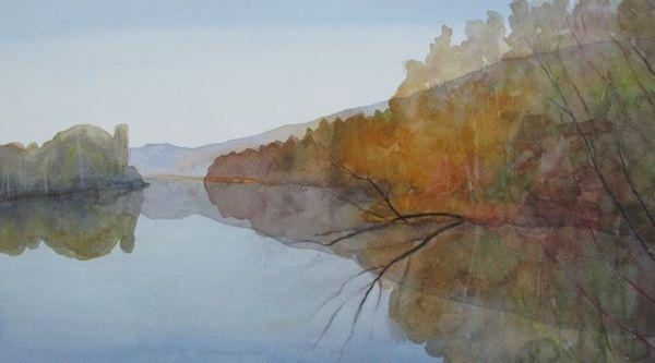 Bodenham Lake - Autumn