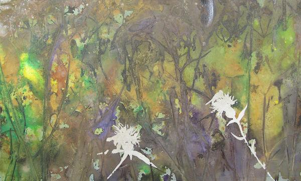 wildflower meadow painting