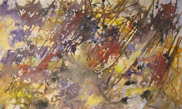 painting experiment wildflower meadow