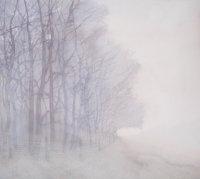 January - Wood Edge on Foggy Morning