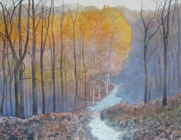 larches autumn