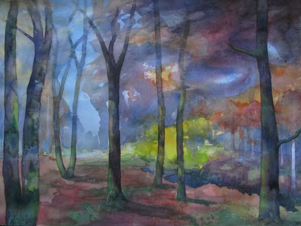 Oak Wood - November