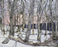 Study for Snow, Evening