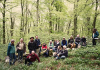 George and Arborealists with Wye Valley AONB team