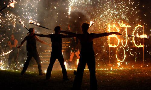 Fire Show Finale