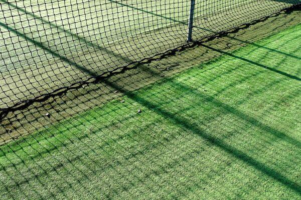 Cricket Nets Shadows