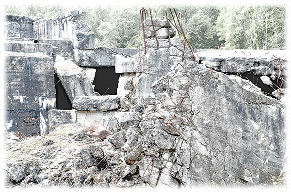 Ruined buildings 1
