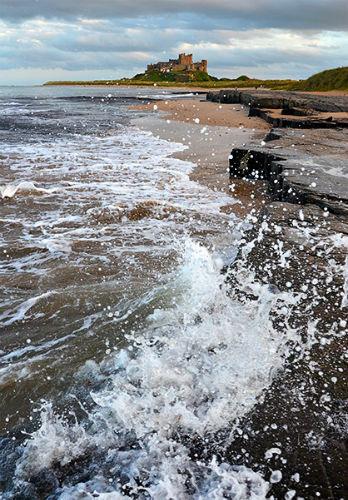 Sea Bamburgh