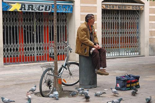 Sitting, Barcelona