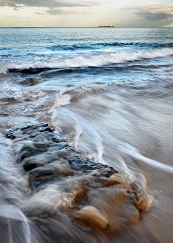 Waves study, Harkess Rocks