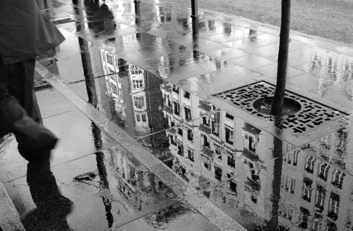 Fleeing the Rain