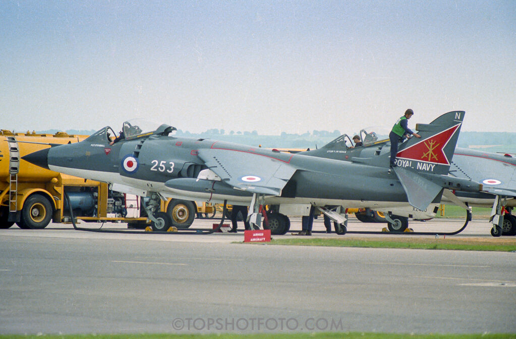 Sea Harrier FRS.1 XZ460