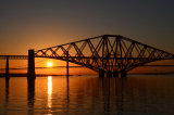 Sunset at the Forth