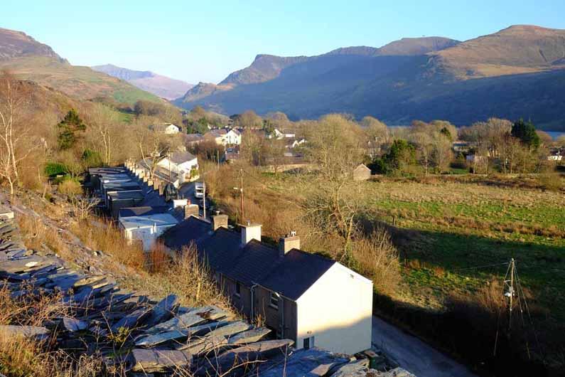 Nantlle village