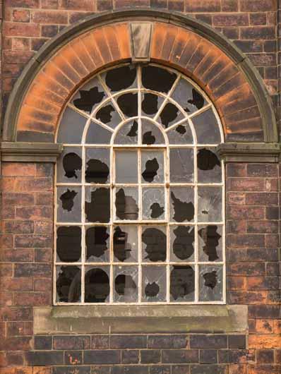 iron-frame window