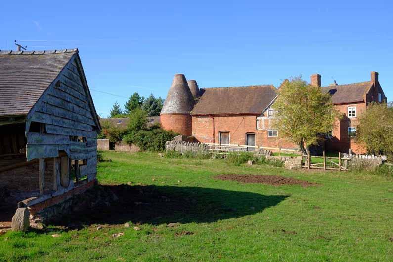 Herefordshire hop kilns
