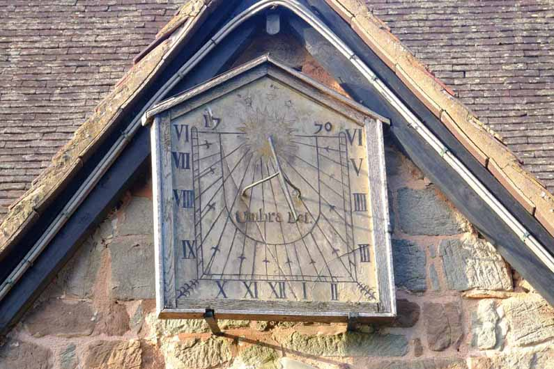 sundial at Dymock