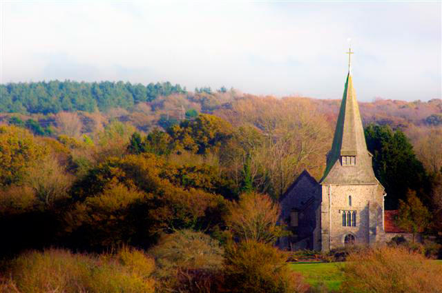 Arlington church Sussex