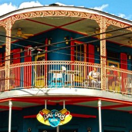 Dat Dog Balcony