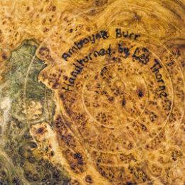 Base of large bowl