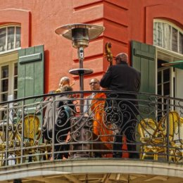 Blues on the Balcony