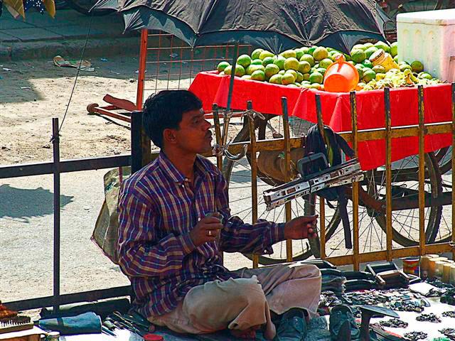 Delhi Street Cobbler
