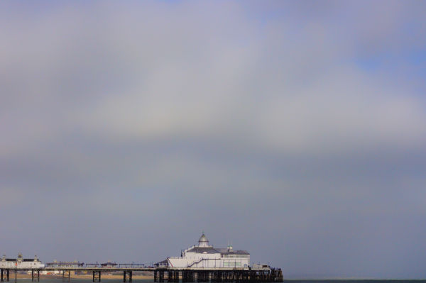 Eastbourne pier from the west