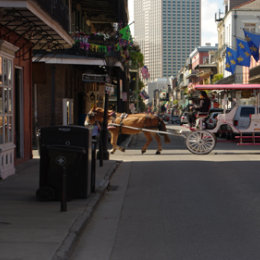 Bourbon St crossing